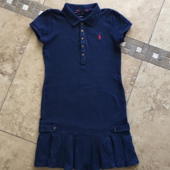 Ralph Girls Lauren 8 Pique Polo 10 Dress Size wOXkZTiPu